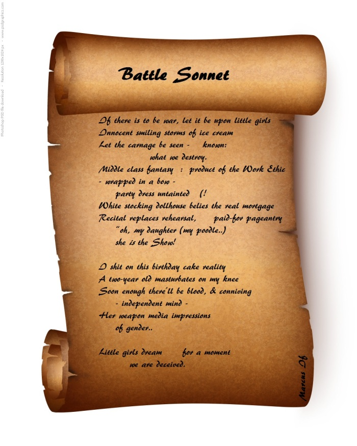 Scroll Battle Sonnet
