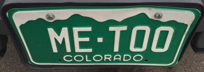 metoo CO plate